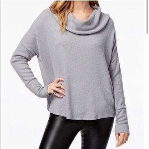 Lucky Brand cowl neck ribbed sweater size medium
